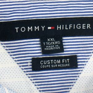 Tommy Hilfiger Shirts - Tommy Hilfiger - Long Sleeve Shirt - Custom Fit